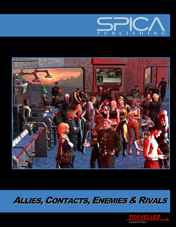 SP 0103 Allies, Contacts, Enemies & Rivals website